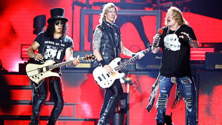 Guns N' Roses Thrill in Detroit With Electric Reunion Tour Opener