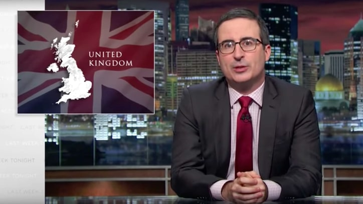 John Oliver on Brexit Fallout: 'United Kingdom' Now Sounds 'Sarcastic'