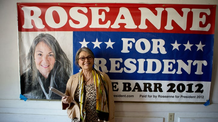 Roseanne Barr on POTUS Bid, America's Greatness (or Lack Thereof)