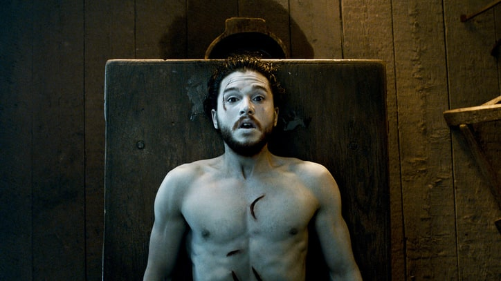 Kit Harington Talks Falling Asleep During 'Game of Thrones' Scene