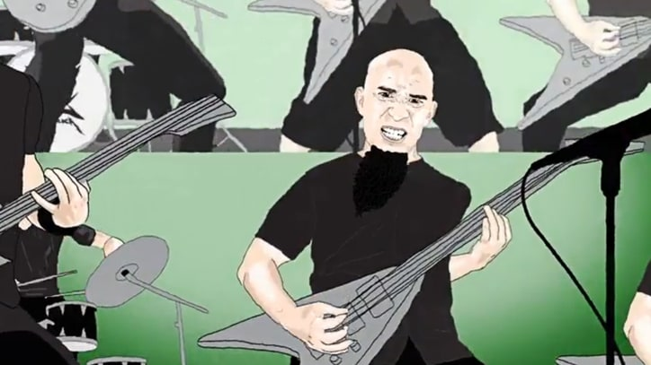 See Anthrax's Scott Ian Recall Big Four Superjam in Animated Video