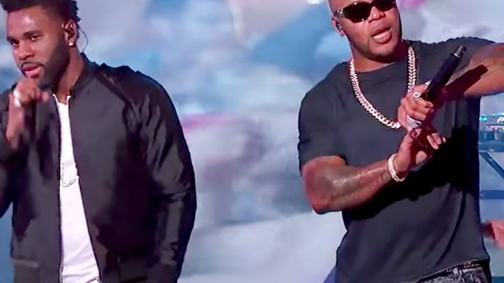 Watch Flo Rida, Jason Derulo Say 'Hello Friday' on 'Kimmel'