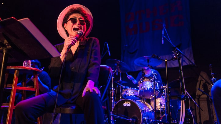 Watch Yoko Ono's Farewell to NYC Record Store Other Music