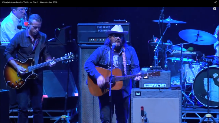 See Wilco, Jason Isbell Team for 'California Stars'