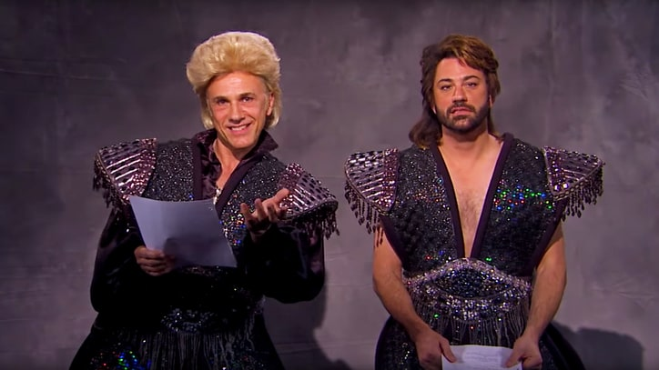 See Jimmy Kimmel, Christoph Waltz Audition for 'Siegfried & Roy' Biopic