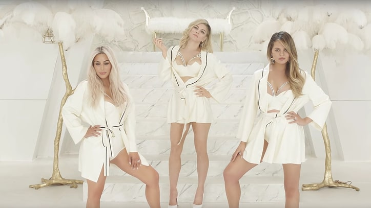 Watch Fergie's Bawdy 'M.I.L.F. $' Video With Kim Kardashian