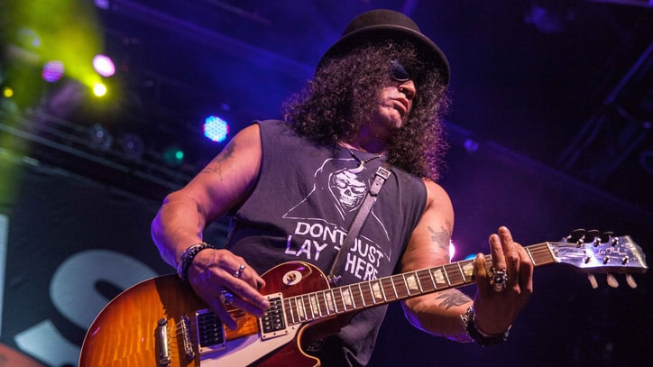 Slash on Guns N' Roses Reunion: 'Everybody's Getting Along'