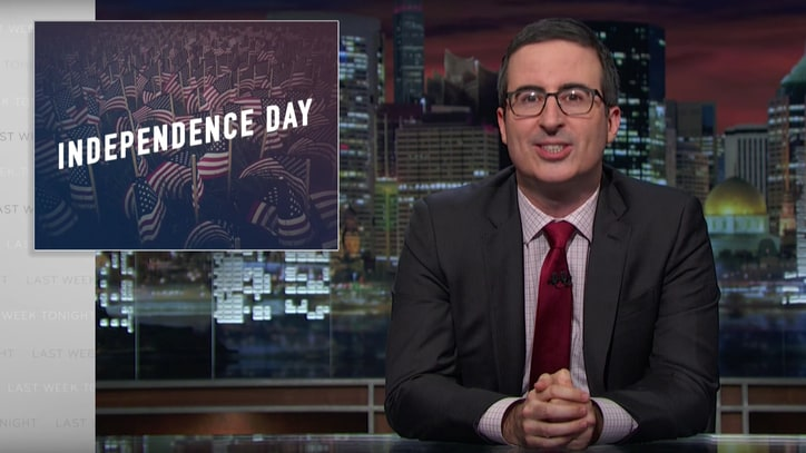 Watch John Oliver Explain What Independence Cost Americans