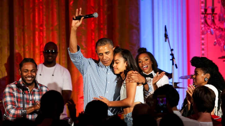 Kendrick Lamar, Janelle Monae, President Obama Sing 'Happy Birthday'