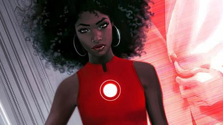 Marvel Reveals Black Woman to Assume 'Iron Man' Role in Comics