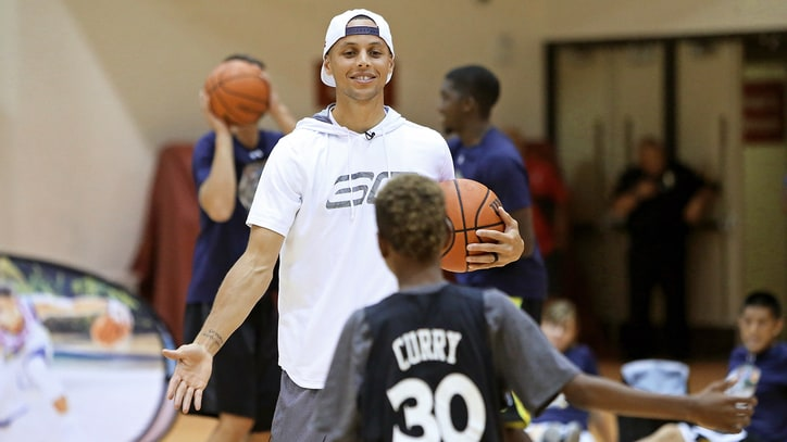 Watch Steph Curry Destroy a Kid in One-on-One Game