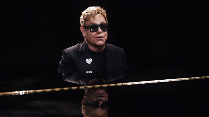Watch Elton John's Tender 'A Good Heart' Video
