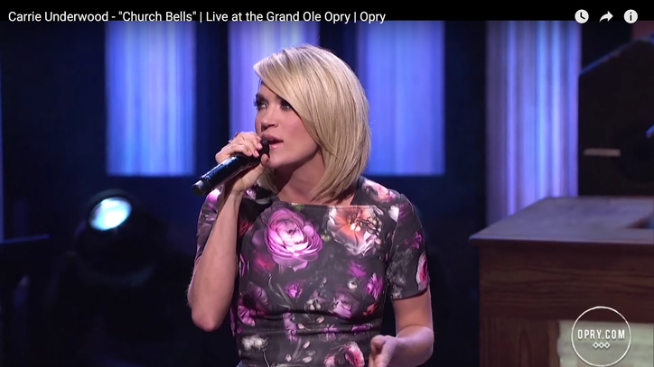 See Carrie Underwood Sing Vengeful 'Church Bells' at the Opry
