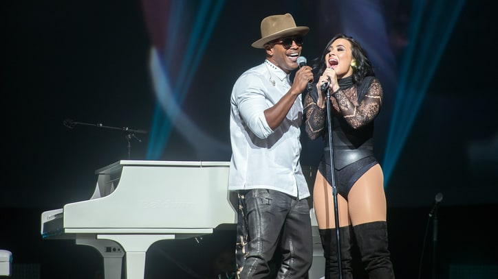 Watch Demi Lovato, Jamie Foxx Cover Ray Charles in Brooklyn
