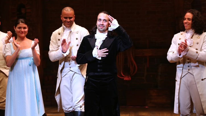 Watch Lin-Manuel Miranda's Emotional Final 'Hamilton' Curtain Call