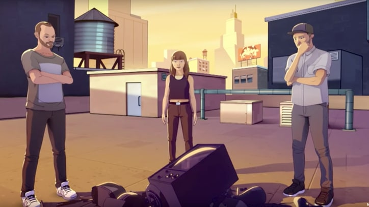 See Chvrches, Hayley Williams as Comics in 'Bury It' Video