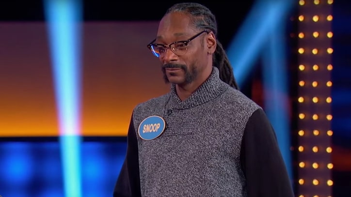 See Snoop Dogg Stumble on 'Family Feud' Marijuana Question