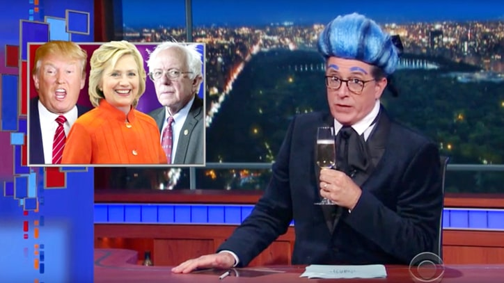 Watch Stephen Colbert Bid Farewell to Bernie Sanders