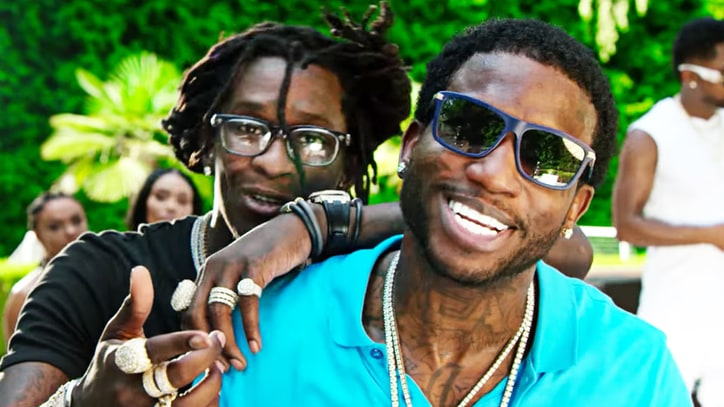 See Gucci Mane, Young Thug Throw Pool Party to Celebrate 'Guwop Home'