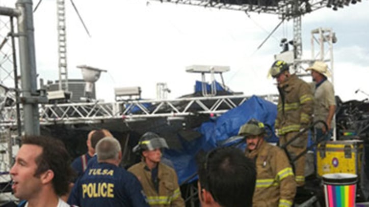Video: Flaming Lips' Stage Collapses in Oklahoma
