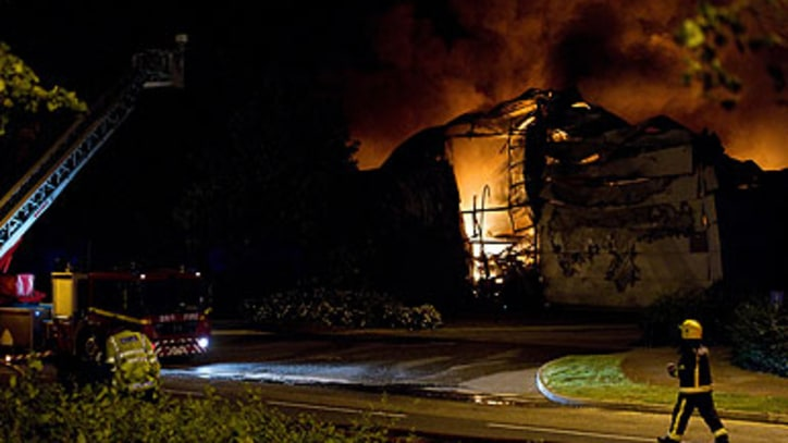 Sony Warehouse Destroyed in London Riots