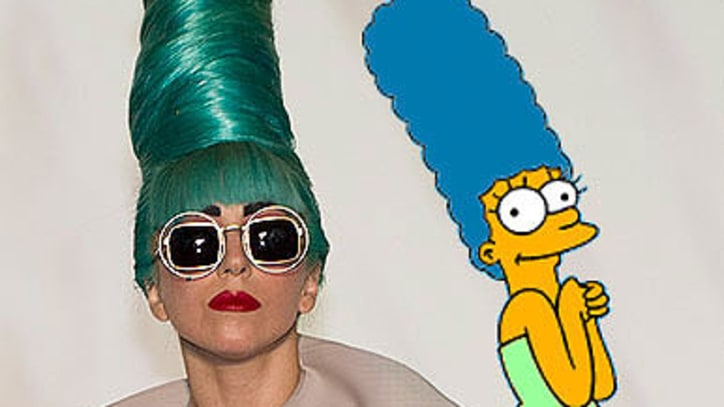 Lady Gaga Guest Stars on 'The Simpsons'