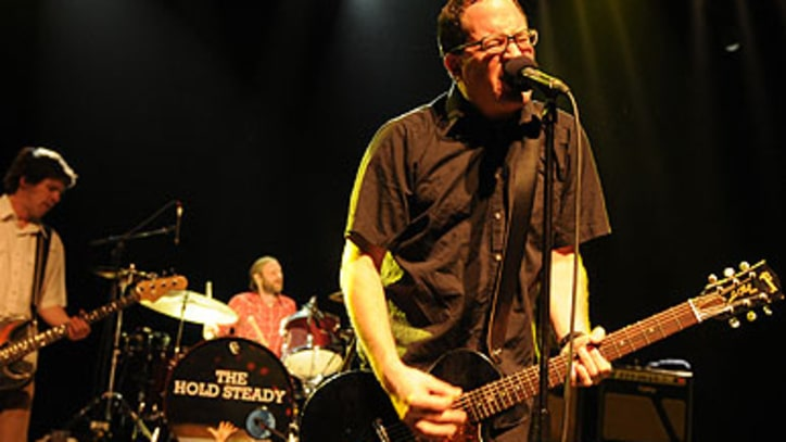 The Hold Steady Kick Off Tour With Greatest Hits