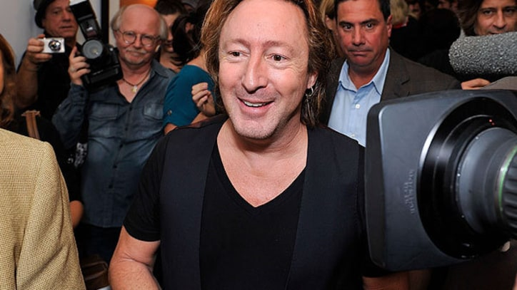 Julian Lennon's 'Timeless' Exhibition: Party Photos, art works