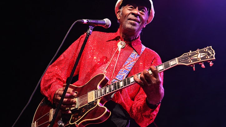 Chuck Berry's New Year's Day Performance