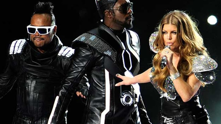 Photos: Black Eyed Peas and More at Super Bowl XLV
