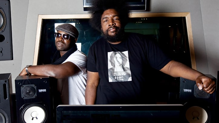 Photos: The Roots In the Studio