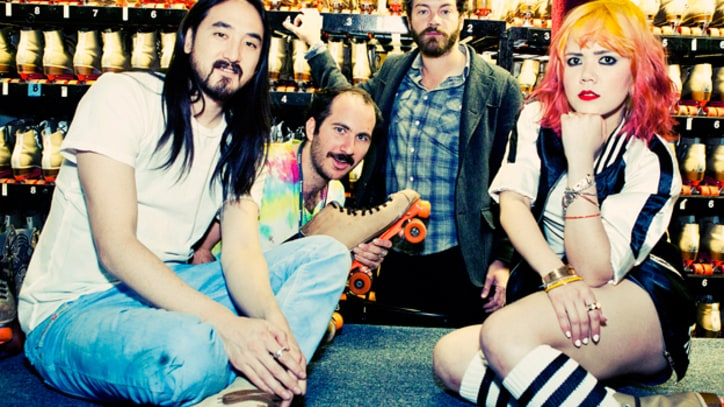 Photos: Behind the Scenes at Steve Aoki's 'Heartbreaker' Video Shoot