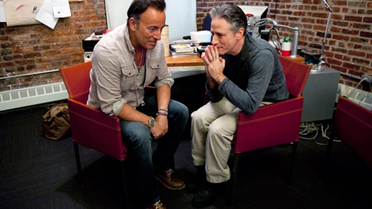 Jon Stewart Interviews Bruce Springsteen