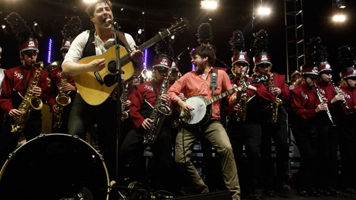 Mumford & Sons, Edward Sharpe & the Magnetic Zeros and the Old Crow Medicine Show