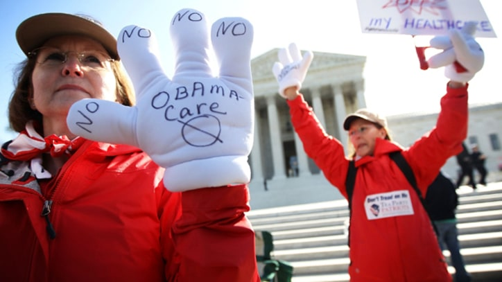 Supreme Court Obamacare Protests