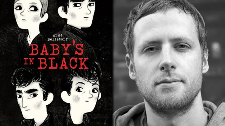 Arne Bellstorf Illustrates the Young Beatles in 'Baby's in Black'