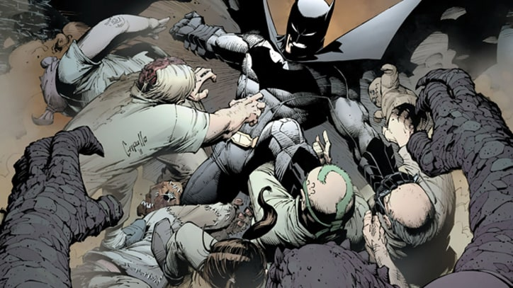 The Dark Knight Reads: Fifteen Essential Batman Graphic Novels