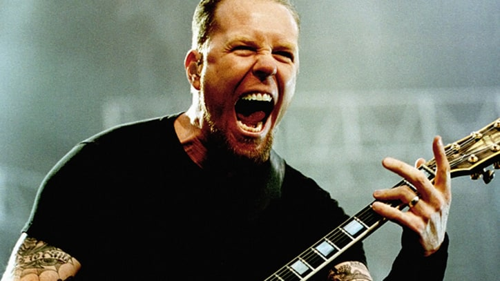 James Hetfield Through the Years