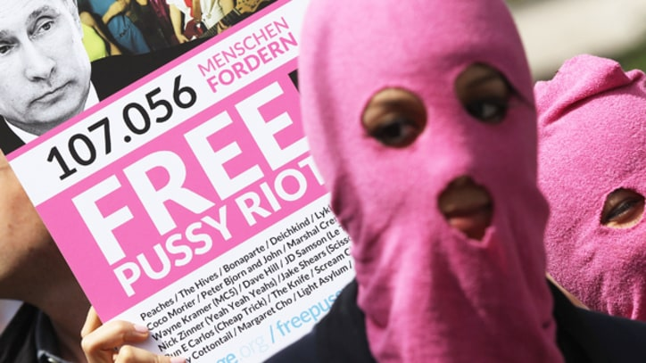 The World Reacts to Pussy Riot Verdict