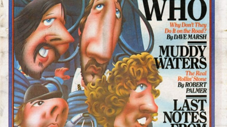The Who on the Cover of Rolling Stone