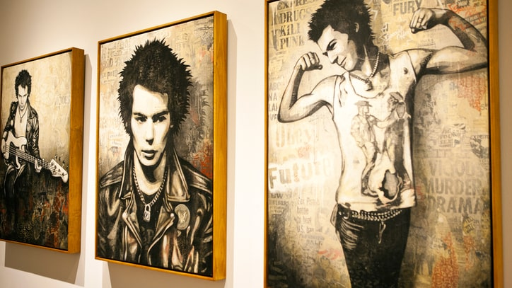 15 Photos of Shepard Fairey's 'Superman Is Dead' Exhibit Opening