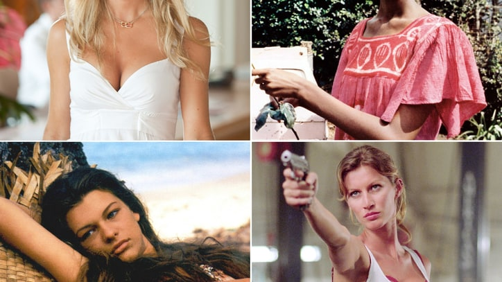 Hollywood Posers: 20 Supermodels Who Tried Acting