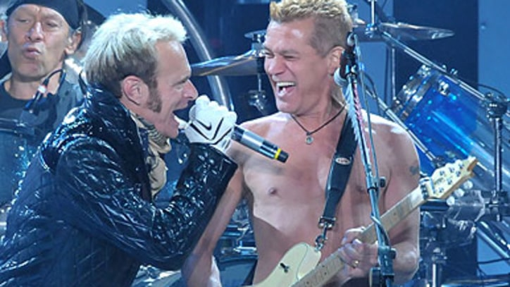 Van Halen May Sign With Columbia