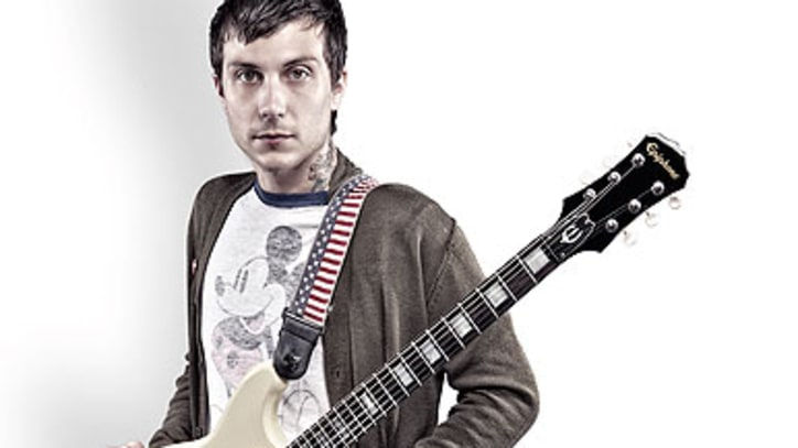 My Chemical Romance's Frank Iero Designs Guitar for Charity