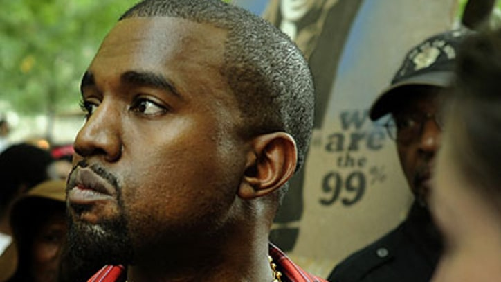 Kanye West Visits Occupy Wall Street Rally