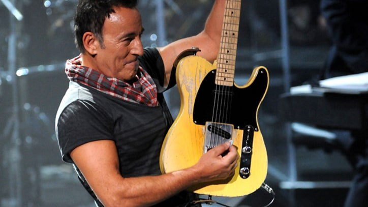 Bruce Springsteen Performs at Stone Pony