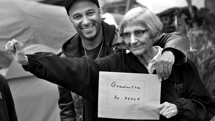 Tom Morello Returns to Occupy L.A.
