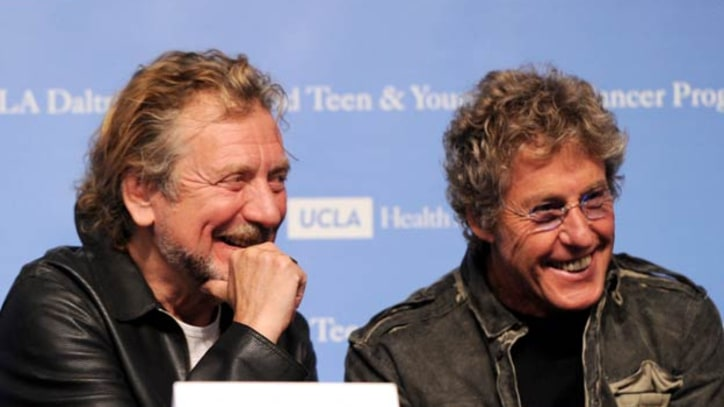 Roger Daltrey and Robert Plant Announce Launch of UCLA's Daltrey/Townshend Teen Cancer Program