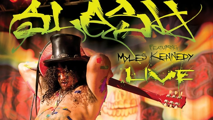 Slash Shows Off His Band's Chemistry on New Live Disc