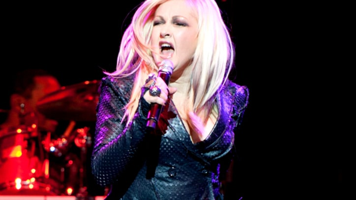 Cyndi Lauper Talks 'Women Who Rock'